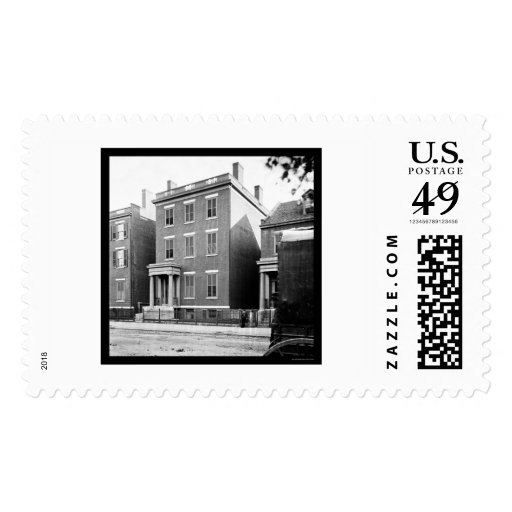 General Lee's Residence in Richmond, VA 1865 Stamps