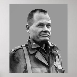 """General Lewis Puller -- """"Arrogante """" Posters"""