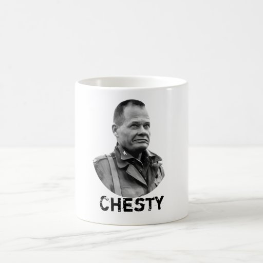 "General Lewis Puller -- ""Chesty"" Coffee Mug"
