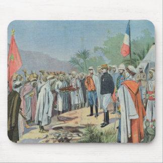 General Lyautey received surrender of rebel Mouse Pad