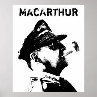 General MacArthur -- American War Hero Poster