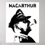 General MacArthur Poster