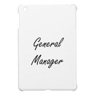 General Manager Artistic Job Design iPad Mini Covers