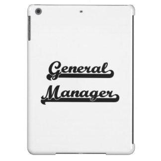 General Manager Classic Job Design iPad Air Cases
