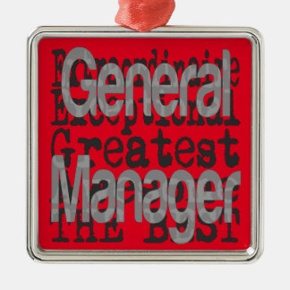 General Manager Extraordinaire Metal Ornament