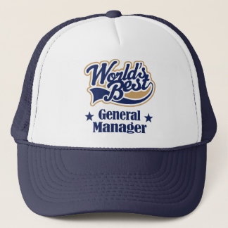 General Manager Gift Trucker Hat