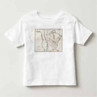 General Map of North America Toddler T-shirt