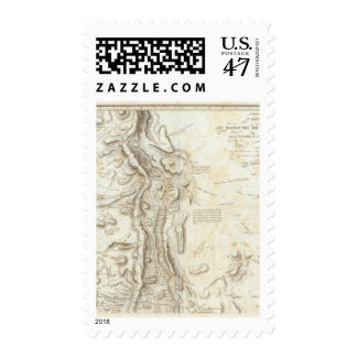 General map of the Kingdom of New Spain Postage