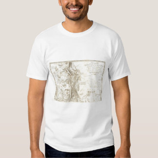 General map of the Kingdom of New Spain Shirts