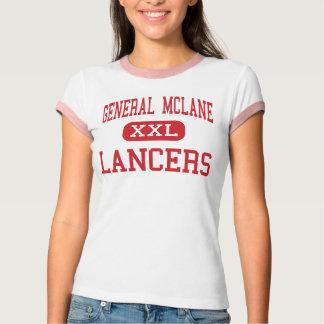 General McLane - Lancers - High - Edinboro T-Shirt