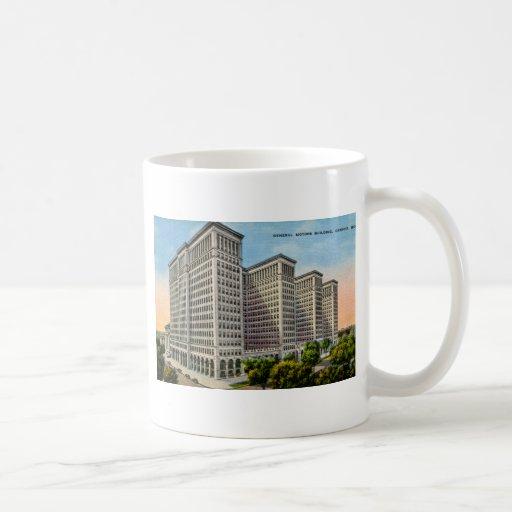 General Motors Building, Detroit, Michigan Classic White Coffee Mug