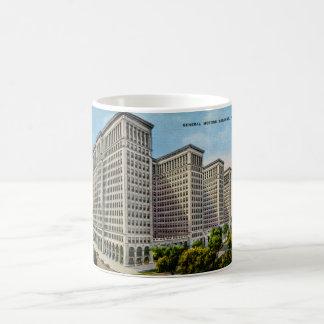 General Motors Building Detroit Michigan Mug