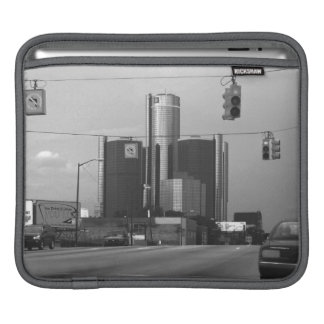 General Motors Headquarters iPad Sleeve