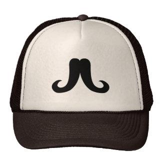 General Mustache Mesh Hats