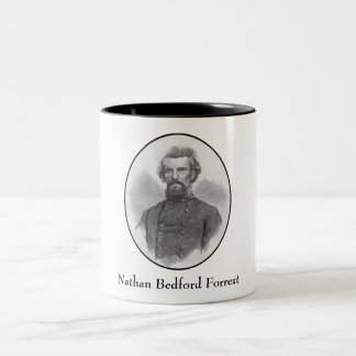 General Nathan Forrest Artwork Coffee Mugs