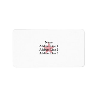 General Of Brigade Of Italy, Italy flag Address Label