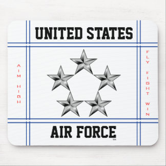 General of the Air Force Mouse Pad