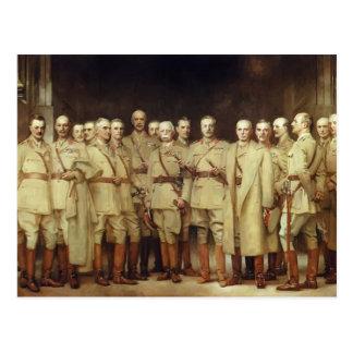 General oficiales de Juan Sargent- de la Primera G Postales
