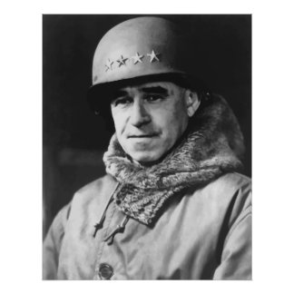 General Omar Bradley Póster