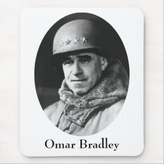 General Omar Nelson Bradley Mouse Pad