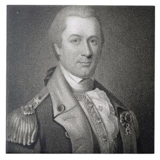 General Otho Holanda Williams (1749-94) grabó b Azulejo Cuadrado Grande