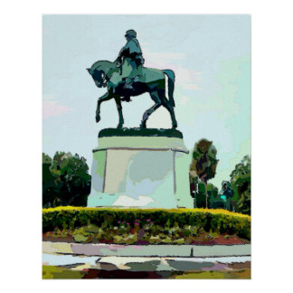 General P.G.T. Beauregard Poster