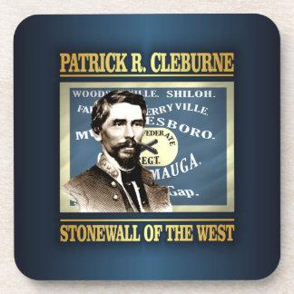 General Patrick R Cleburne Drink Coaster