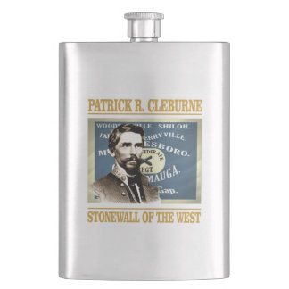 General Patrick R Cleburne Flask