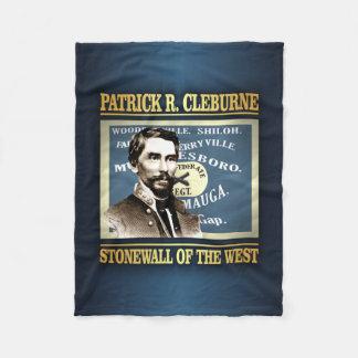 General Patrick R Cleburne Fleece Blanket