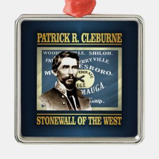 General Patrick R Cleburne Metal Ornament