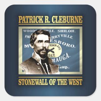 General Patrick R Cleburne Square Sticker