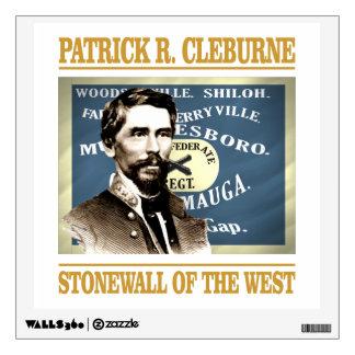 General Patrick R Cleburne Wall Sticker