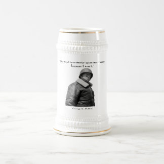 General Patton and quote Beer Stein