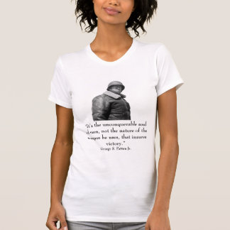 General Patton and quote T Shirts