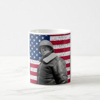 General Patton and The American Flag Coffee Mug