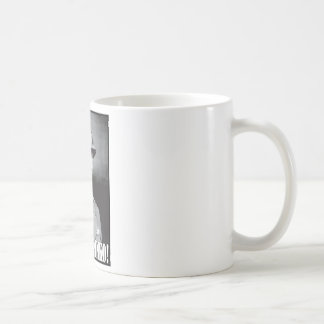 General Patton says Shut Up Pinko! Coffee Mug