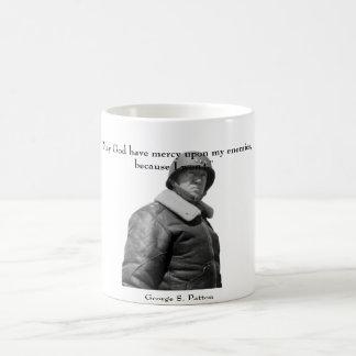 General Patton y cita Taza De Café