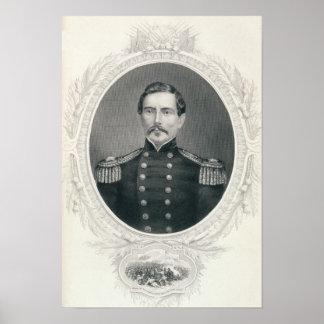 General Pedro Gustavo Toutant Beauregard Póster