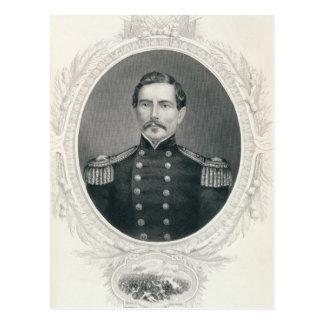 General Pedro Gustavo Toutant Beauregard Tarjetas Postales
