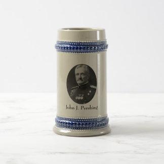 General Pershing Beer Stein