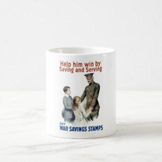 General Pershing - Buy War Saving Stamps Coffee Mug