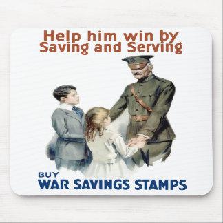 General Pershing - Buy War Saving Stamps Mouse Pad