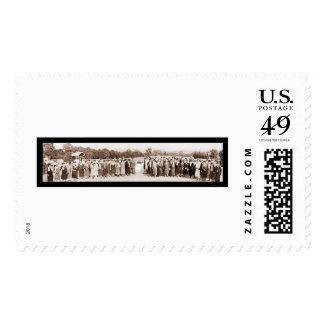 General Pershing & Ladies Photo 1930 Stamps
