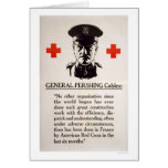 General Pershing Red Cross Poster Cards