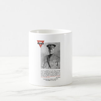 General Pershing -- United War Works Campaign Coffee Mug