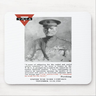 General Pershing -- United War Works Campaign Mousepads