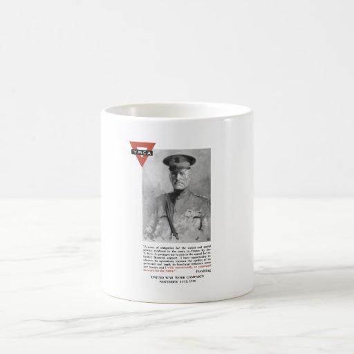 General Pershing -- United War Works Campaign Coffee Mug
