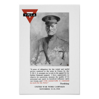 General Pershing -- United War Works Campaign Poster