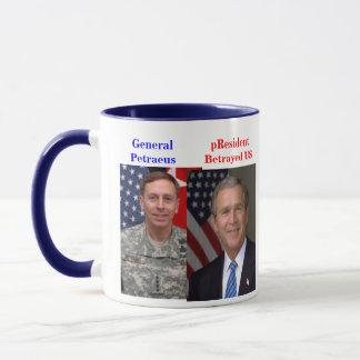 General Petraeus pResident Bush Betrayed US Mug