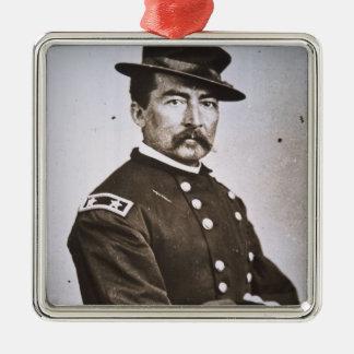 General Philip H. Sheridan (1831-88) (b/w photo) Metal Ornament